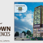 downtown mall and residences